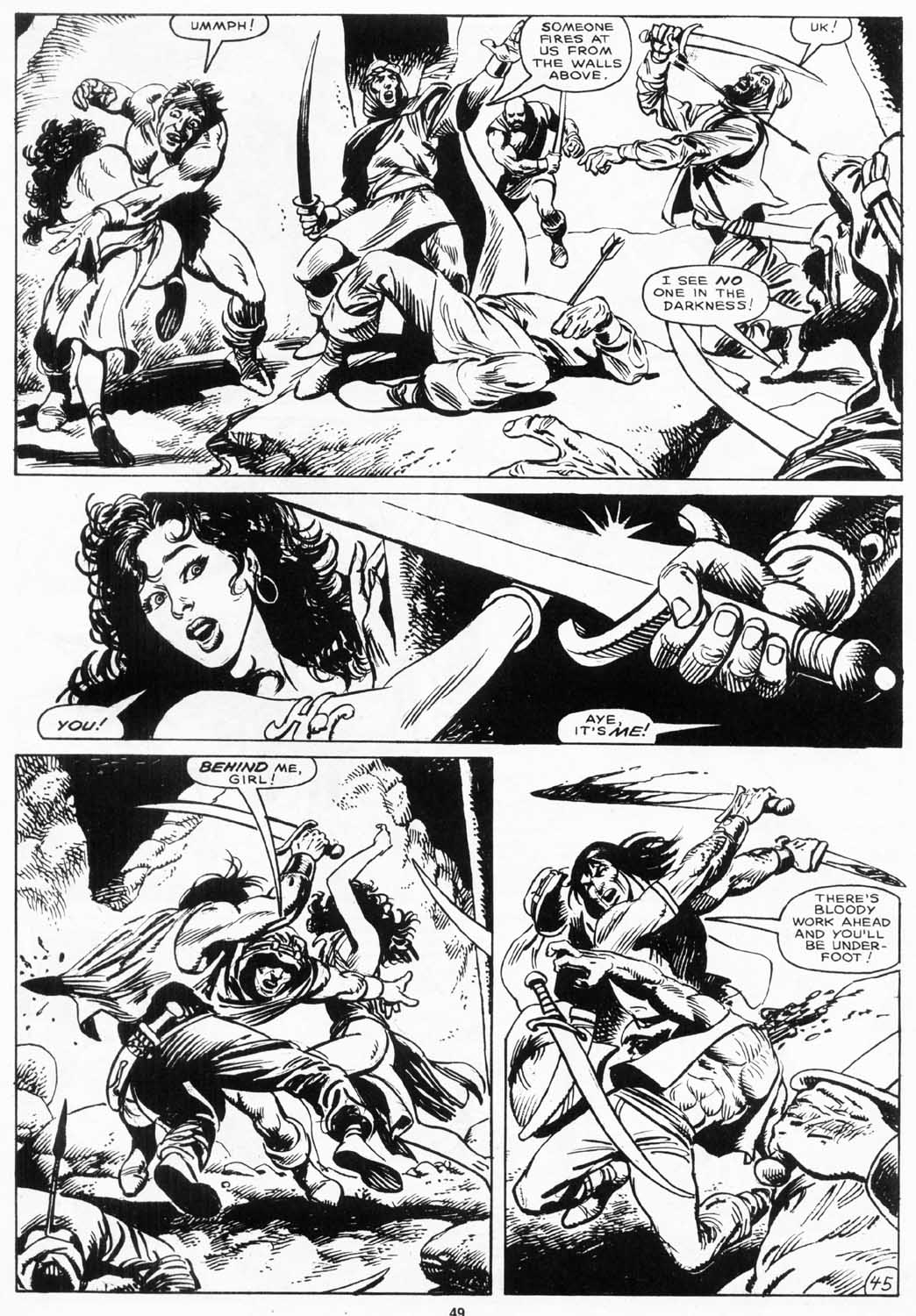 The Savage Sword Of Conan Issue #156 #157 - English 48