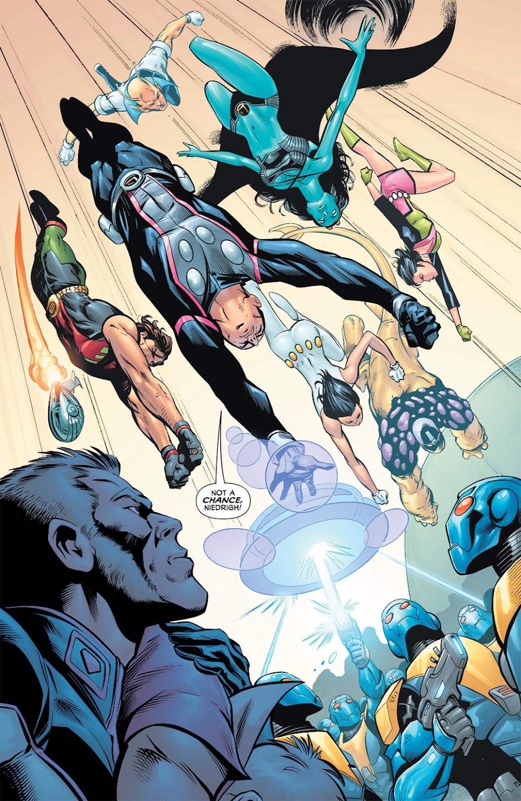 Legion of Super-Heroes (2010) Issue #5 #6 - English 23