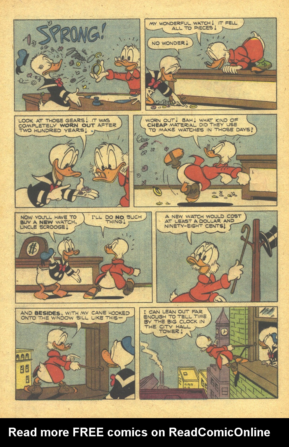 Uncle Scrooge (1953) #10 #395 - English 28