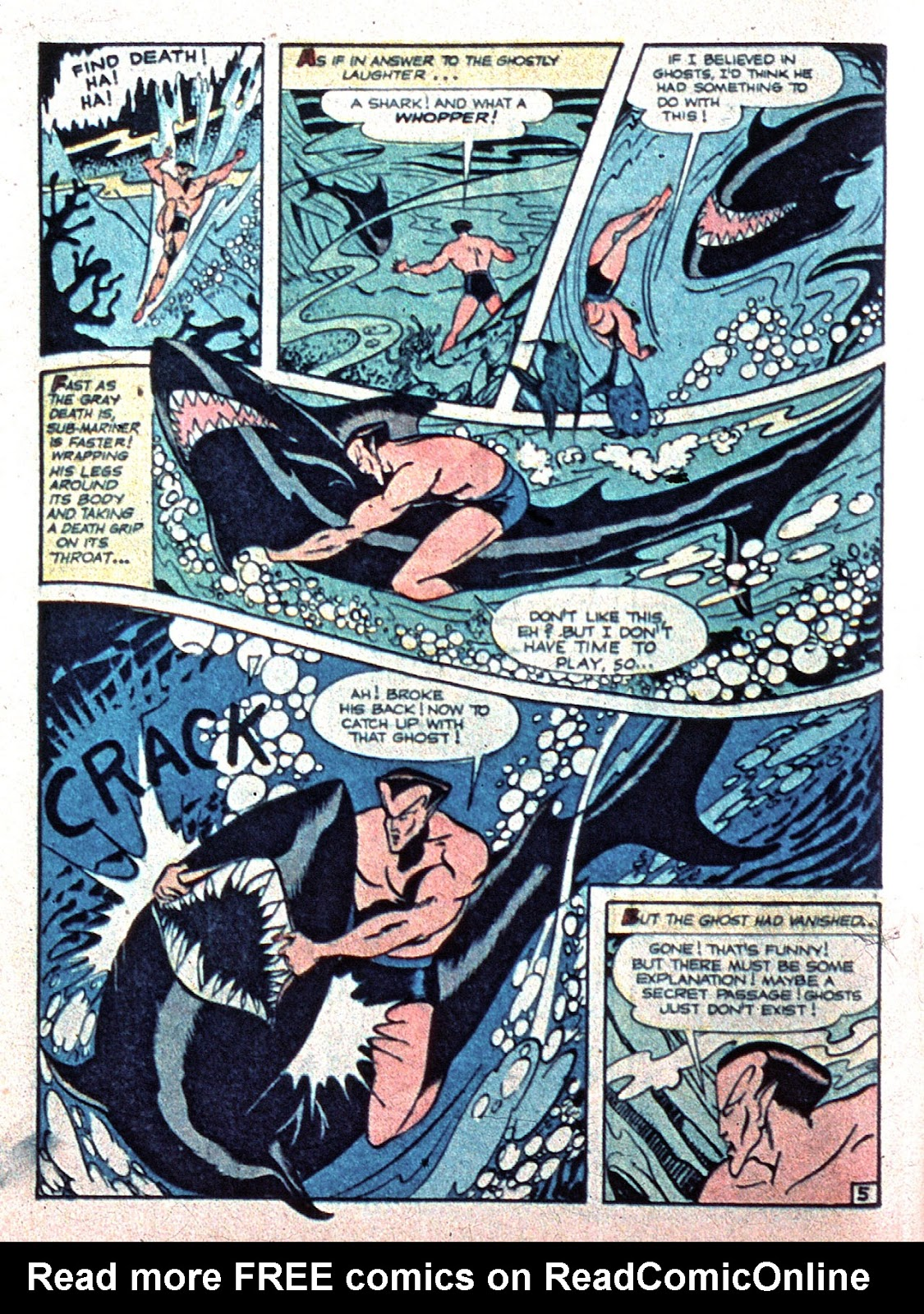 Sub-Mariner Comics Issue #15 #15 - English 20