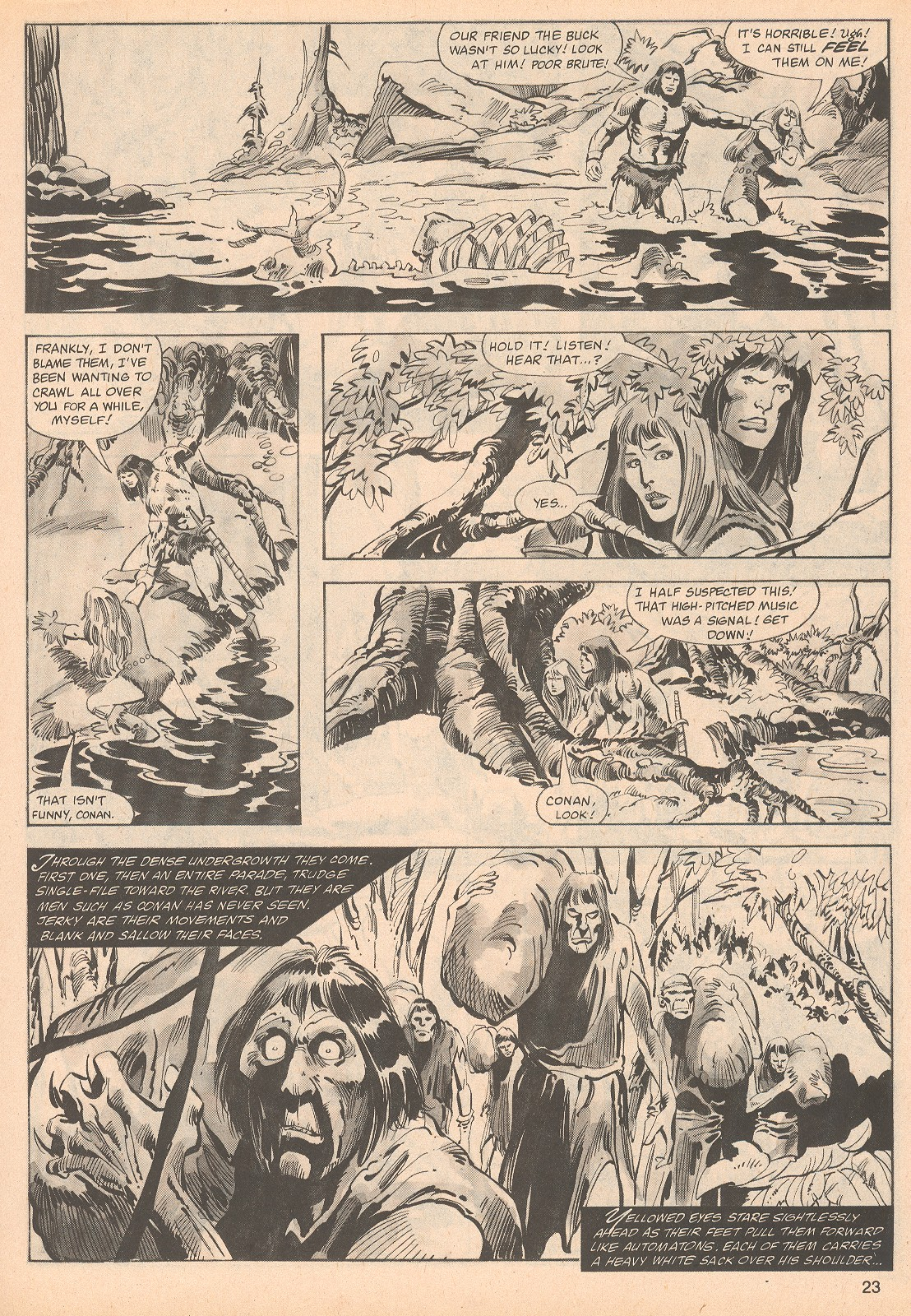 The Savage Sword Of Conan Issue #70 #71 - English 23