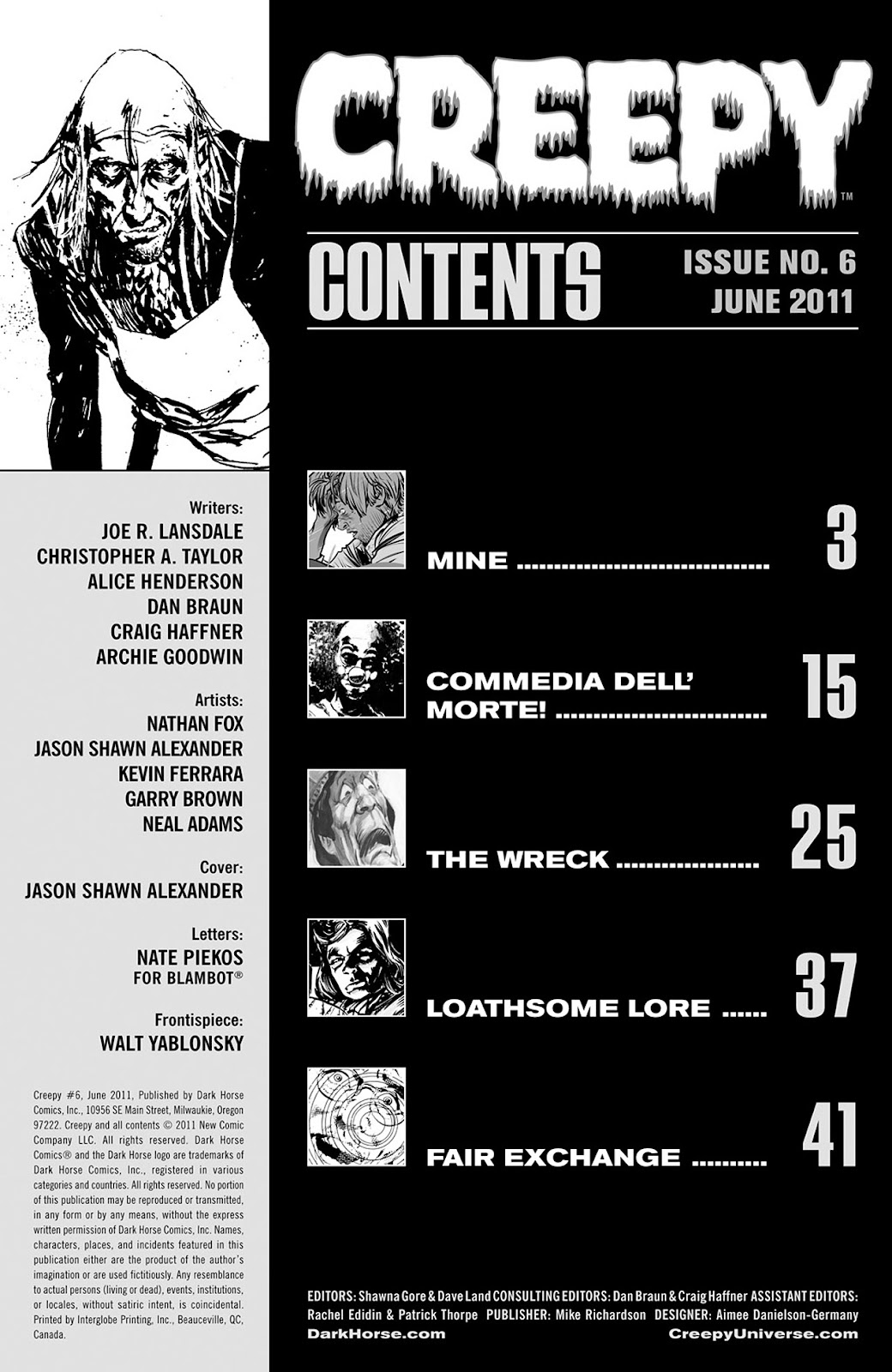 Creepy (2009) Issue #6 #6 - English 3