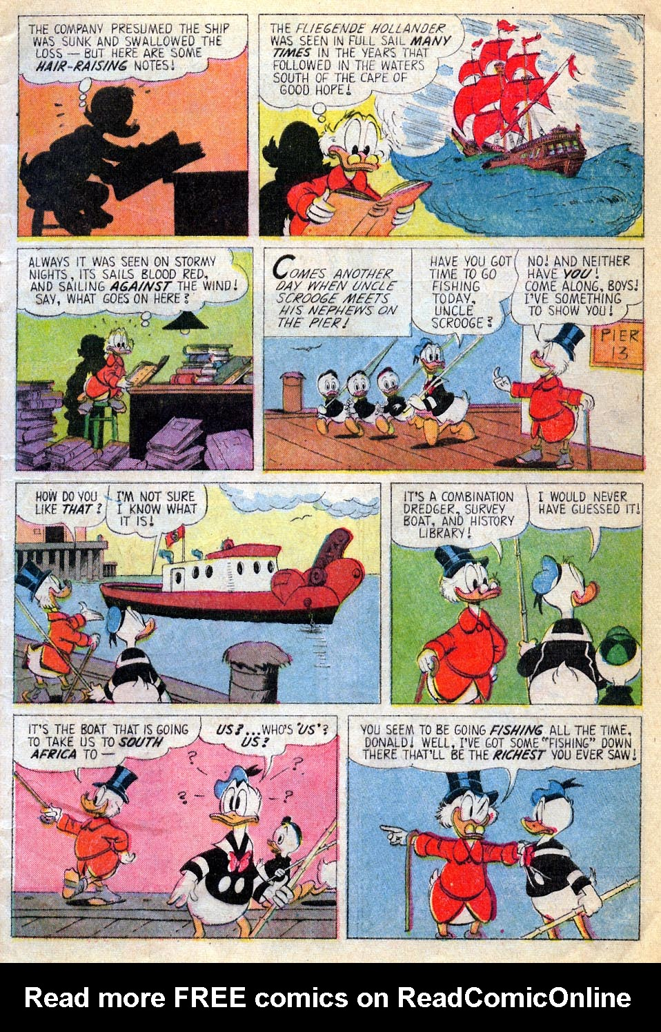 Uncle Scrooge (1953) Issue #87 #87 - English 4