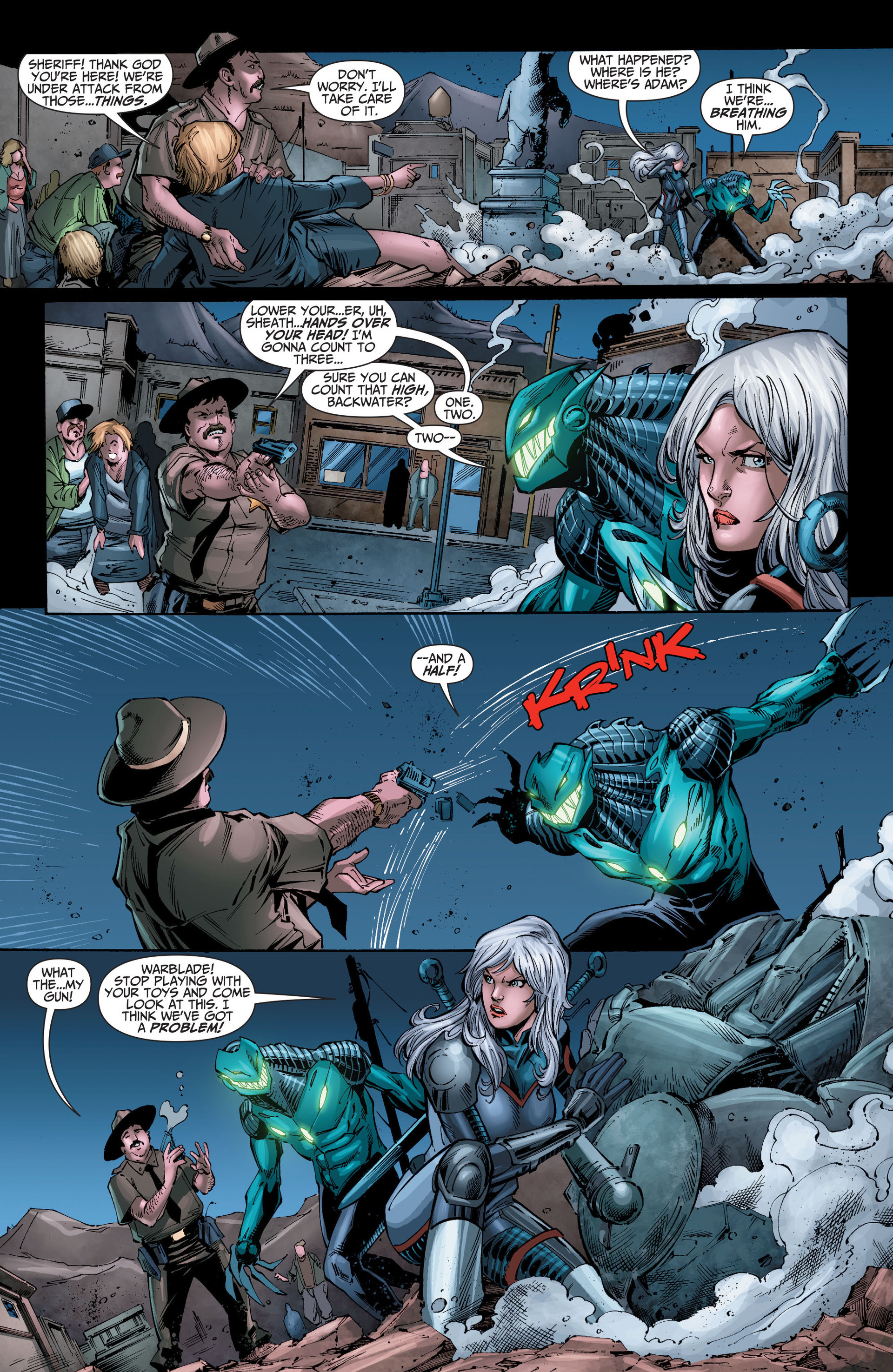 Read online The Ravagers comic -  Issue #8 - 6