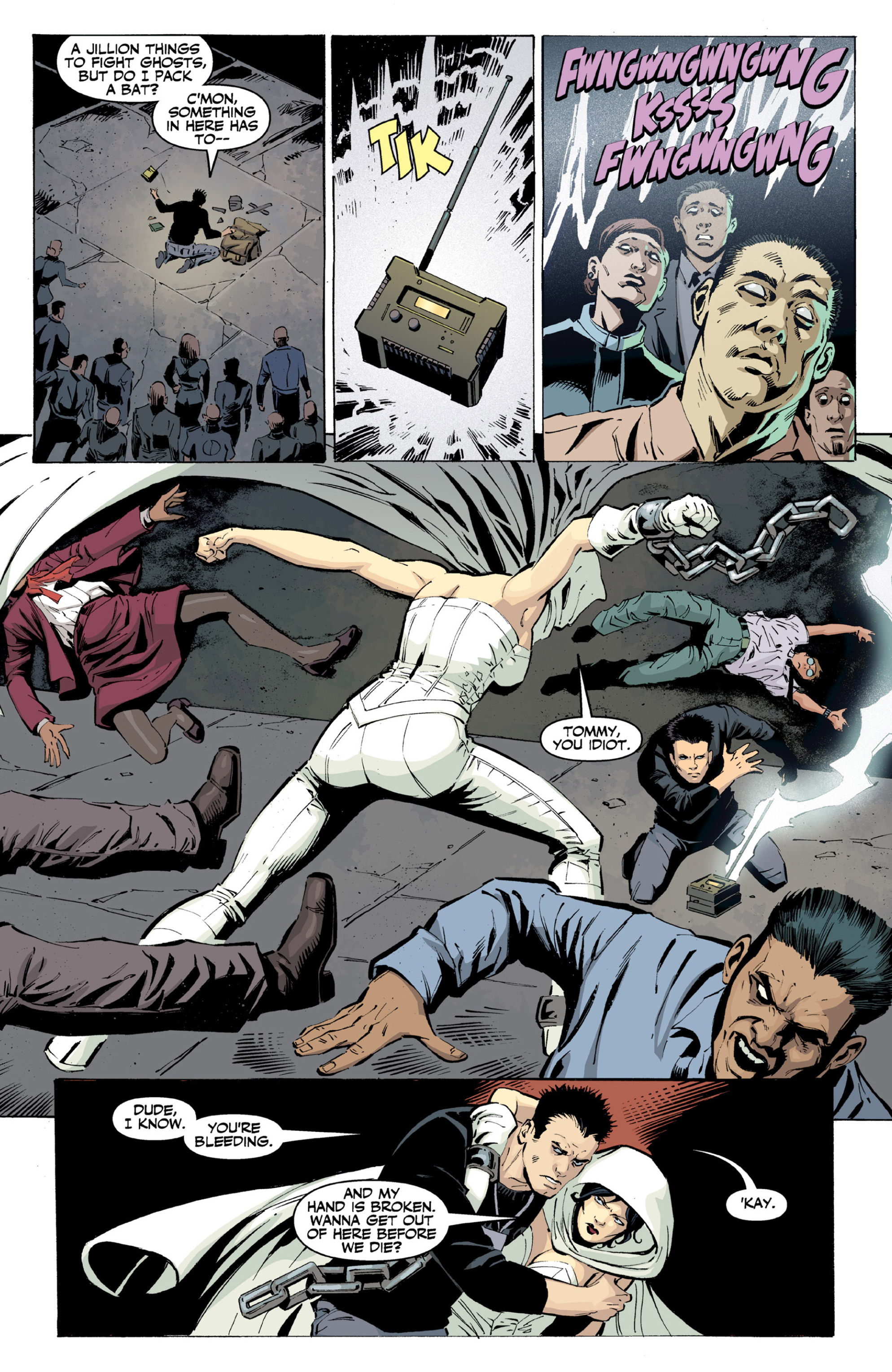 Read online Ghost (2013) comic -  Issue # TPB 2 - 41