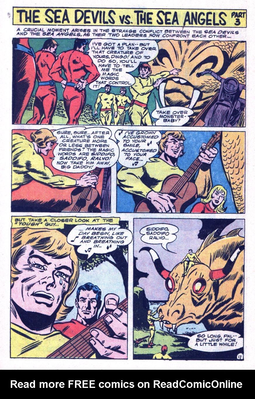 Read online Sea Devils comic -  Issue #34 - 25