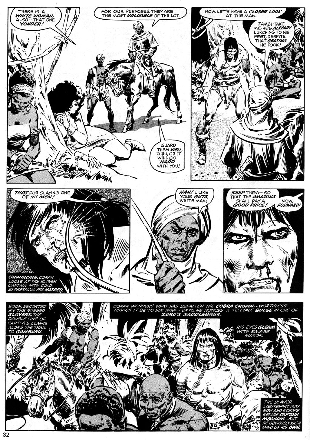 The Savage Sword Of Conan Issue #41 #42 - English 32