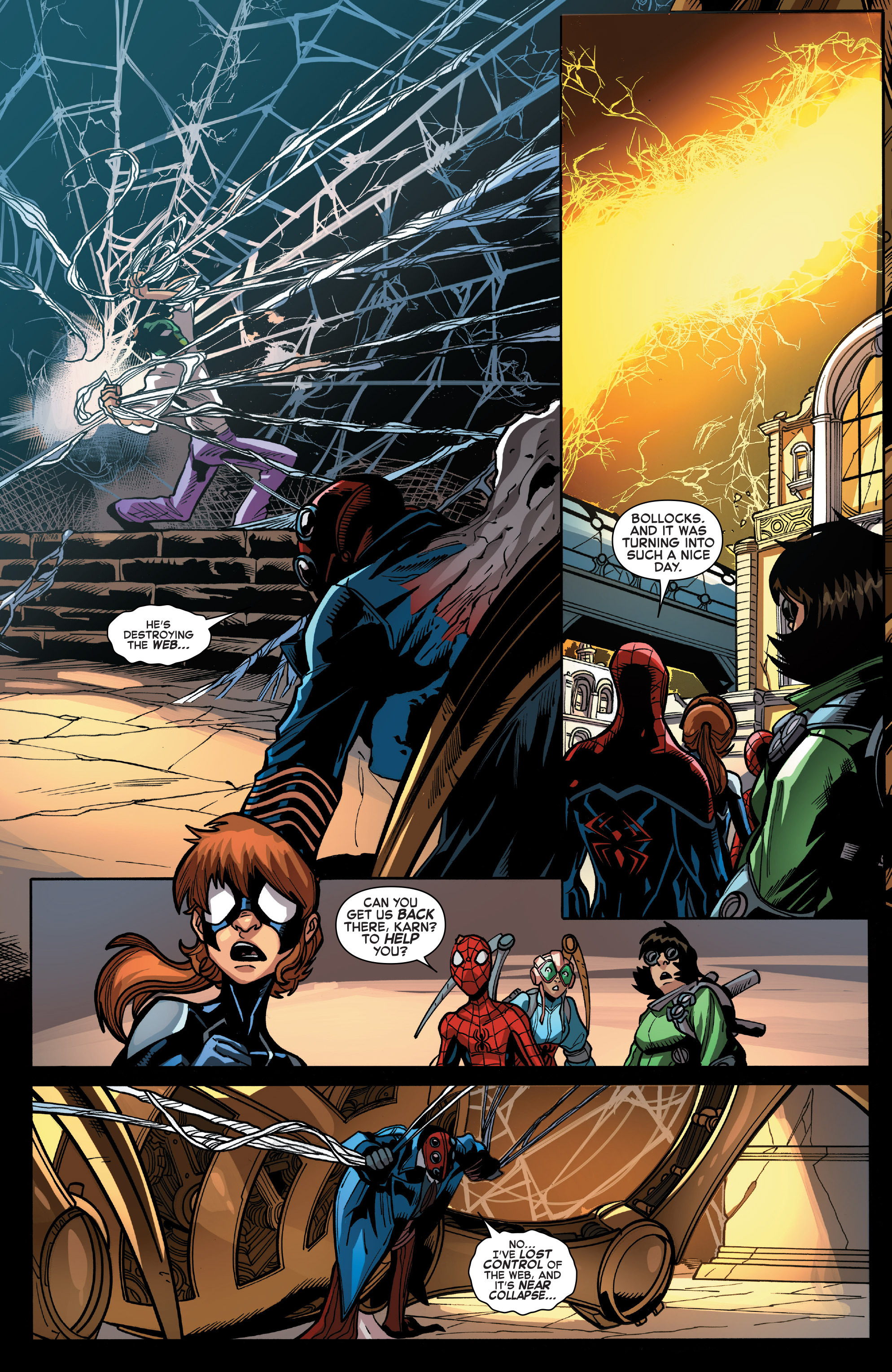 Read online Web Warriors comic -  Issue #11 - 14