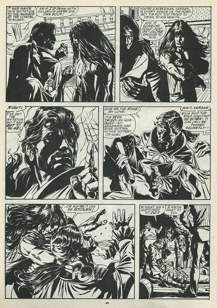 The Savage Sword Of Conan Issue #185 #186 - English 42