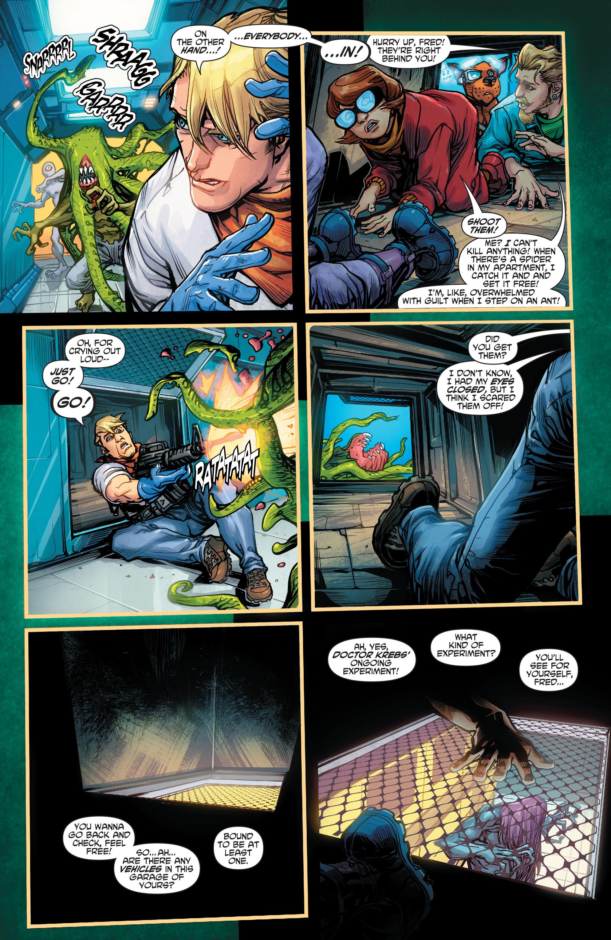 Read online Scooby Apocalypse comic -  Issue #2 - 21