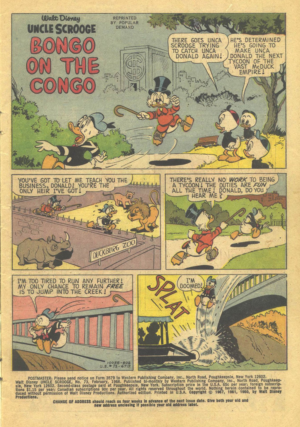 Uncle Scrooge (1953) Issue #73 #73 - English 3