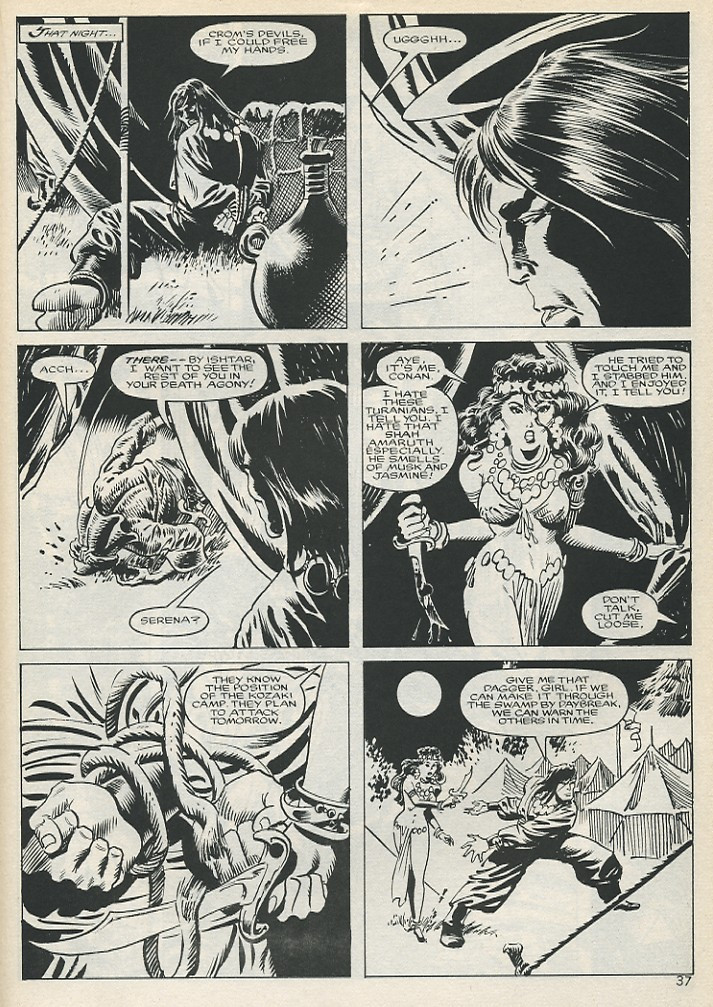The Savage Sword Of Conan Issue #131 #132 - English 37