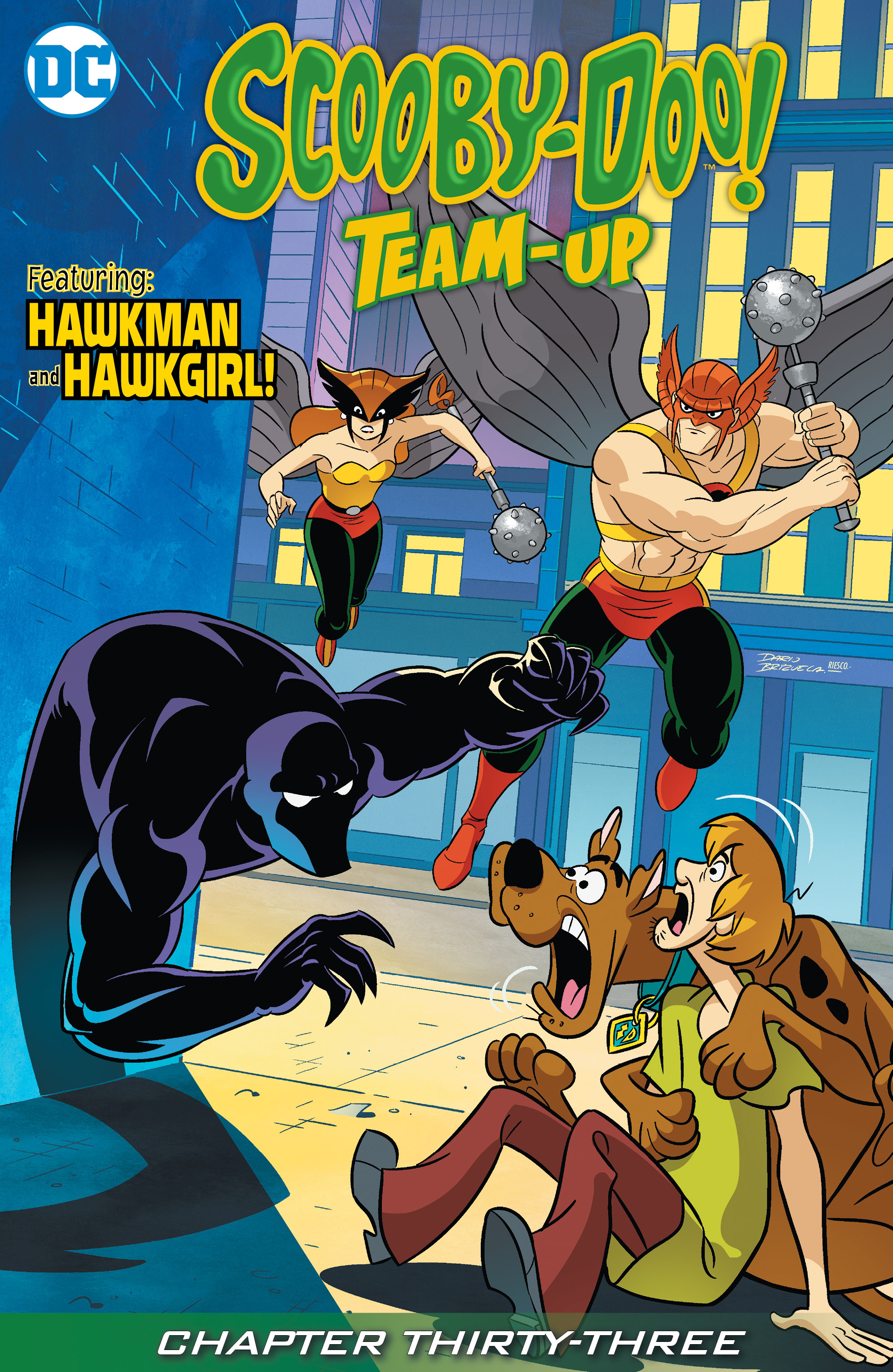 Read online Scooby-Doo! Team-Up comic -  Issue #33 - 2