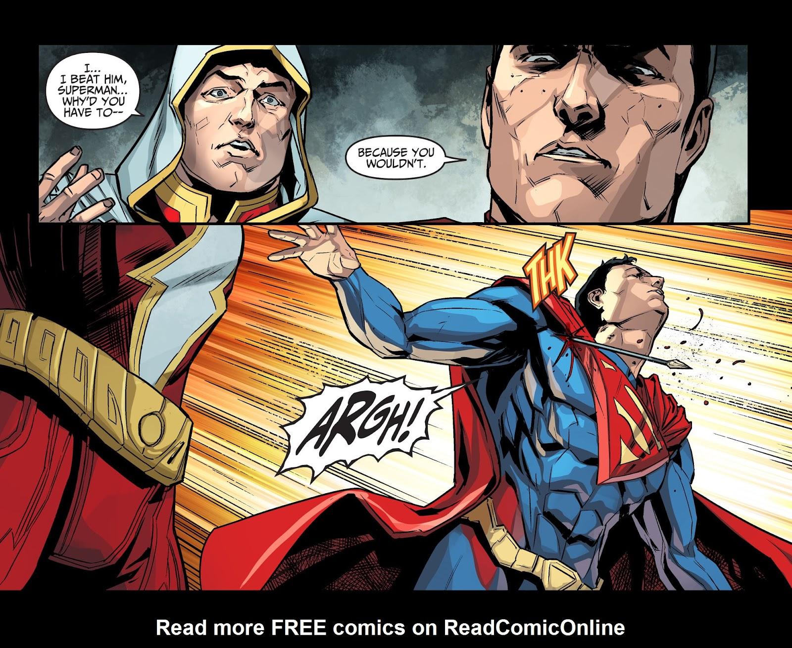 Injustice: Gods Among Us Year Four Issue #14 #15 - English 6