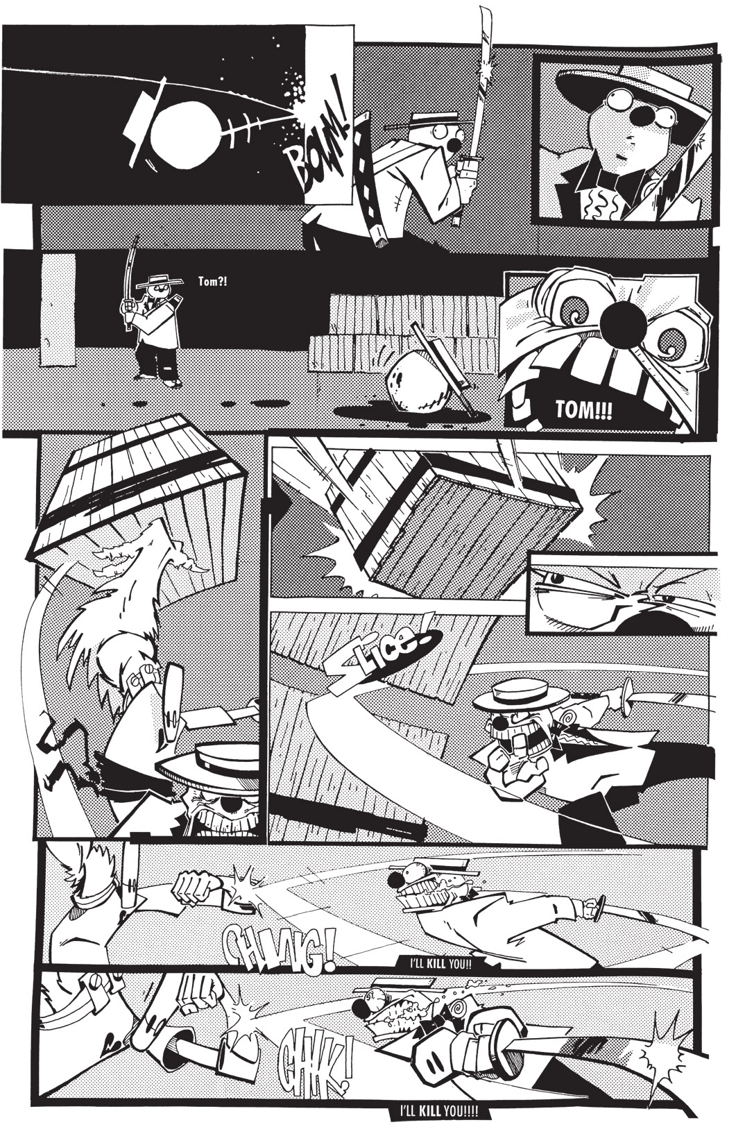 Read online Scud: The Disposable Assassin: The Whole Shebang comic -  Issue # TPB (Part 1) - 215
