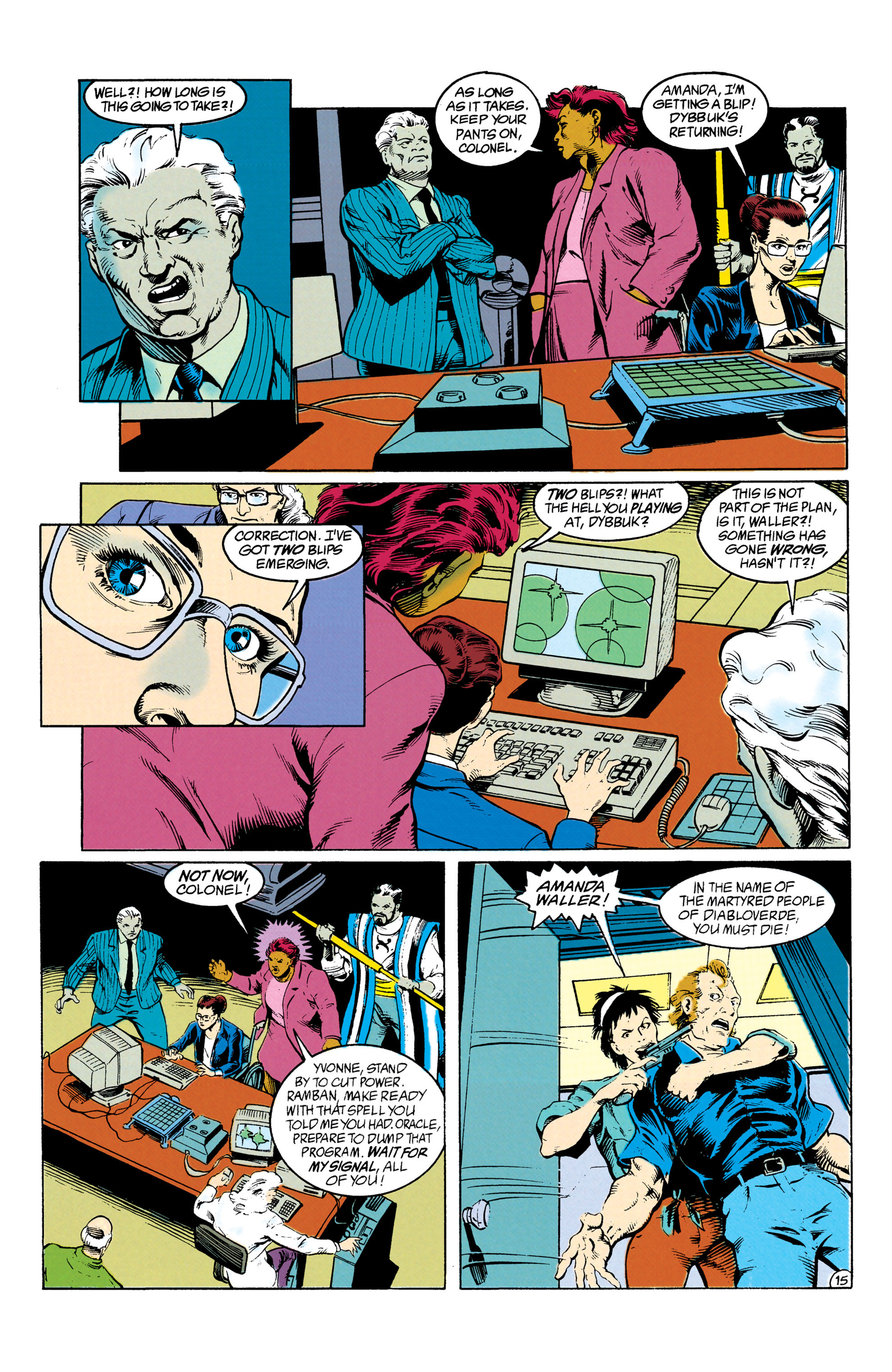 Read online Suicide Squad (1987) comic -  Issue #63 - 16