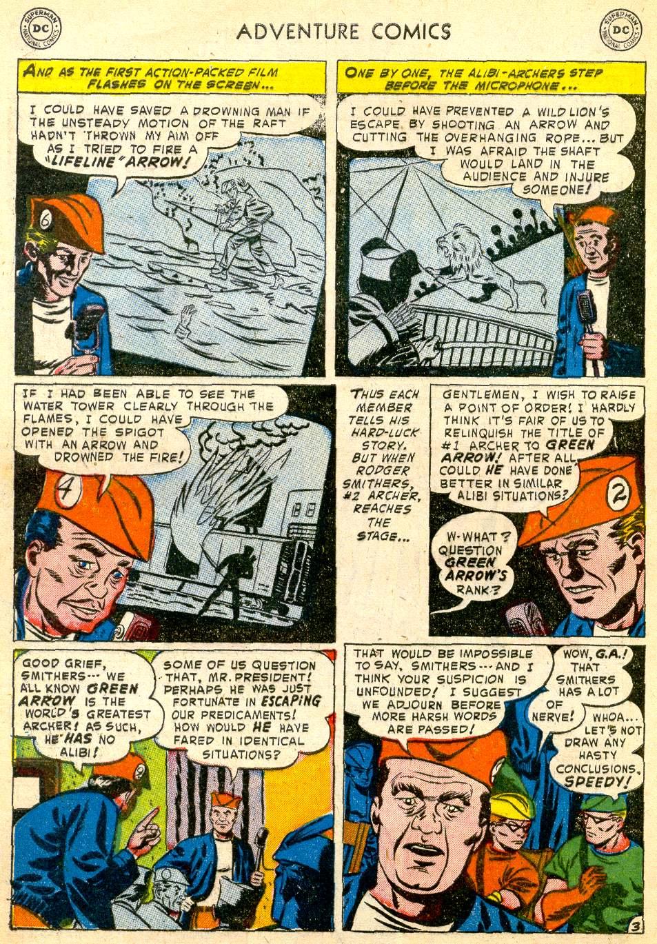 Read online Adventure Comics (1938) comic -  Issue #192 - 36