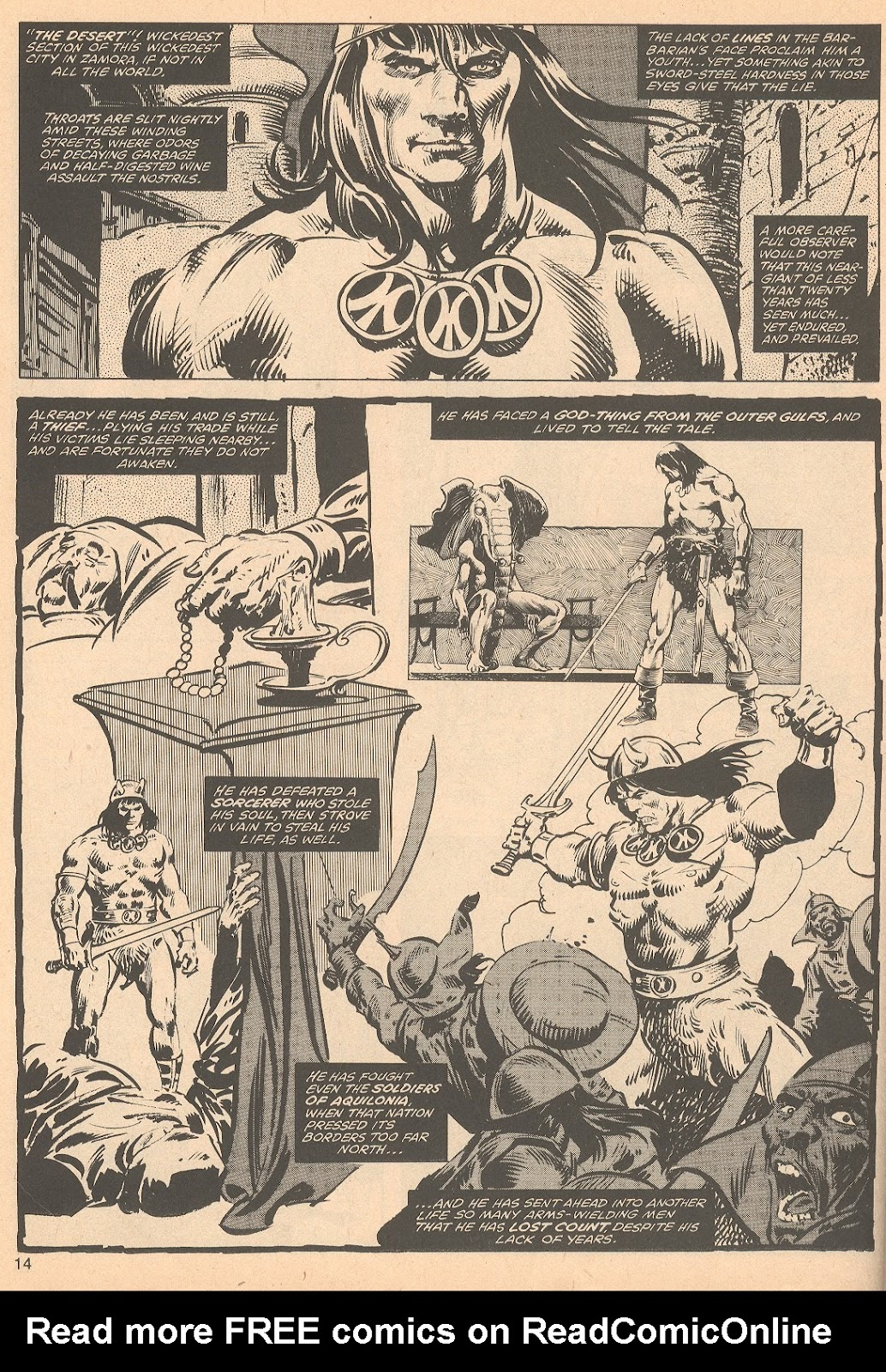 The Savage Sword Of Conan Issue #56 #57 - English 14