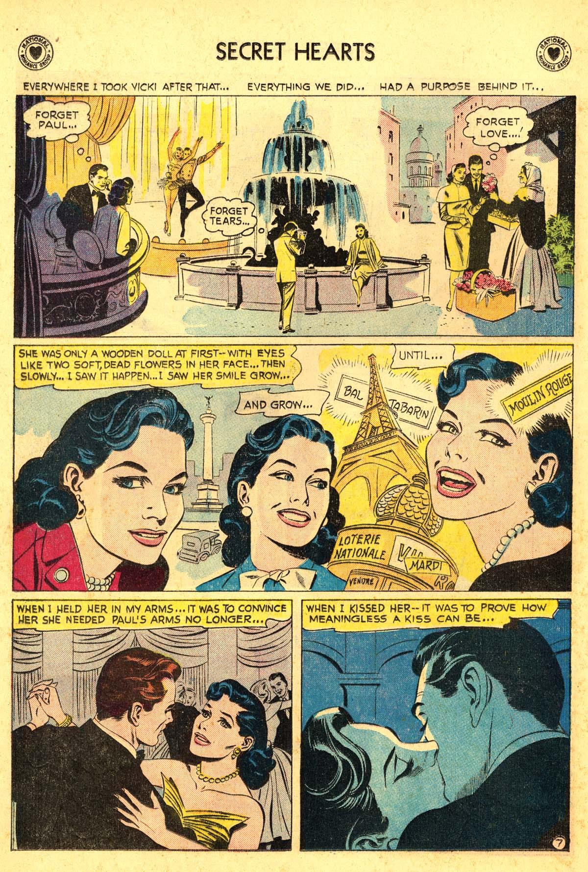 Read online Secret Hearts comic -  Issue #54 - 32