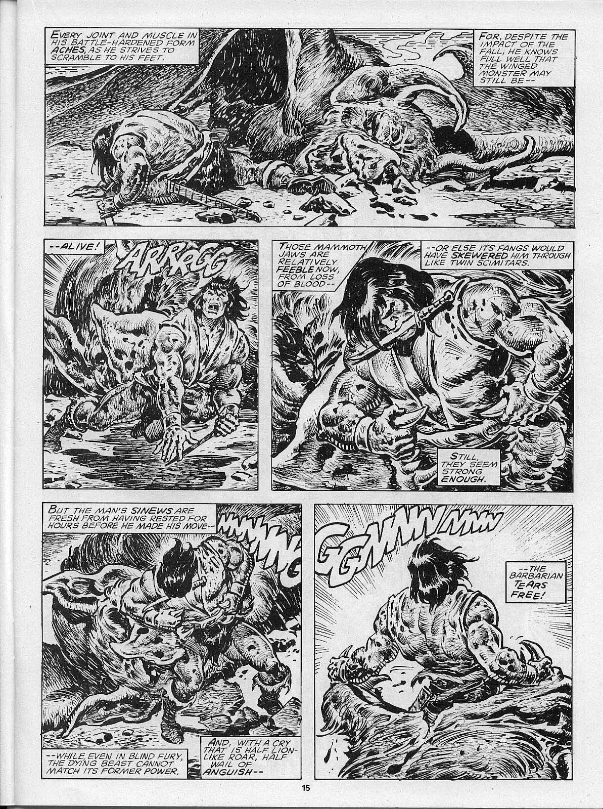 The Savage Sword Of Conan Issue #200 #201 - English 17