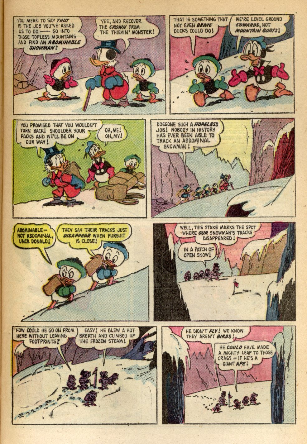 Uncle Scrooge (1953) Issue #84 #84 - English 9