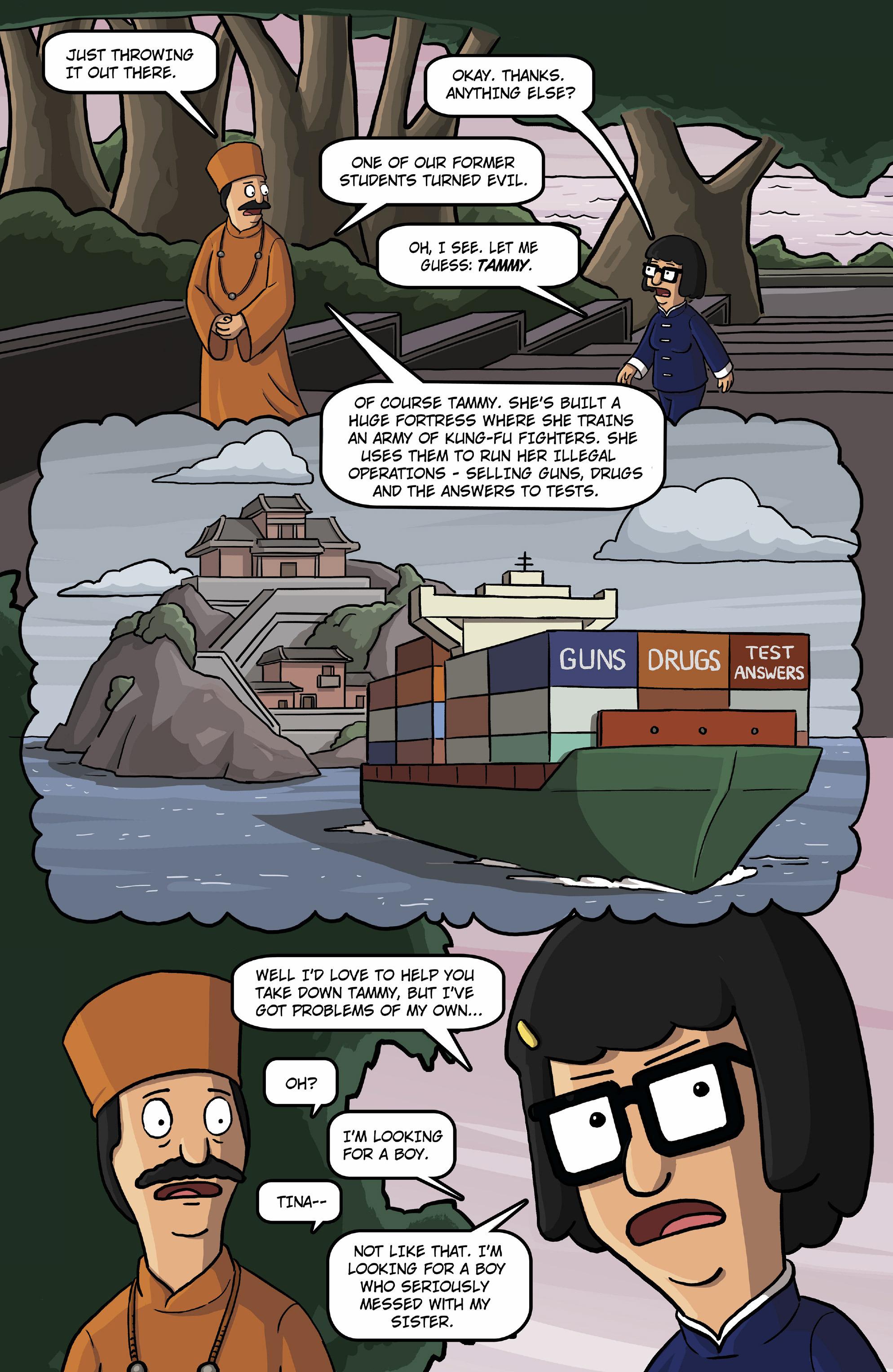 Read online Bob's Burgers (2015) comic -  Issue #13 - 4