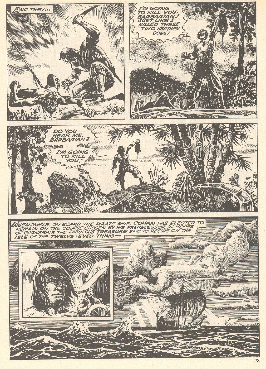 The Savage Sword Of Conan Issue #75 #76 - English 23
