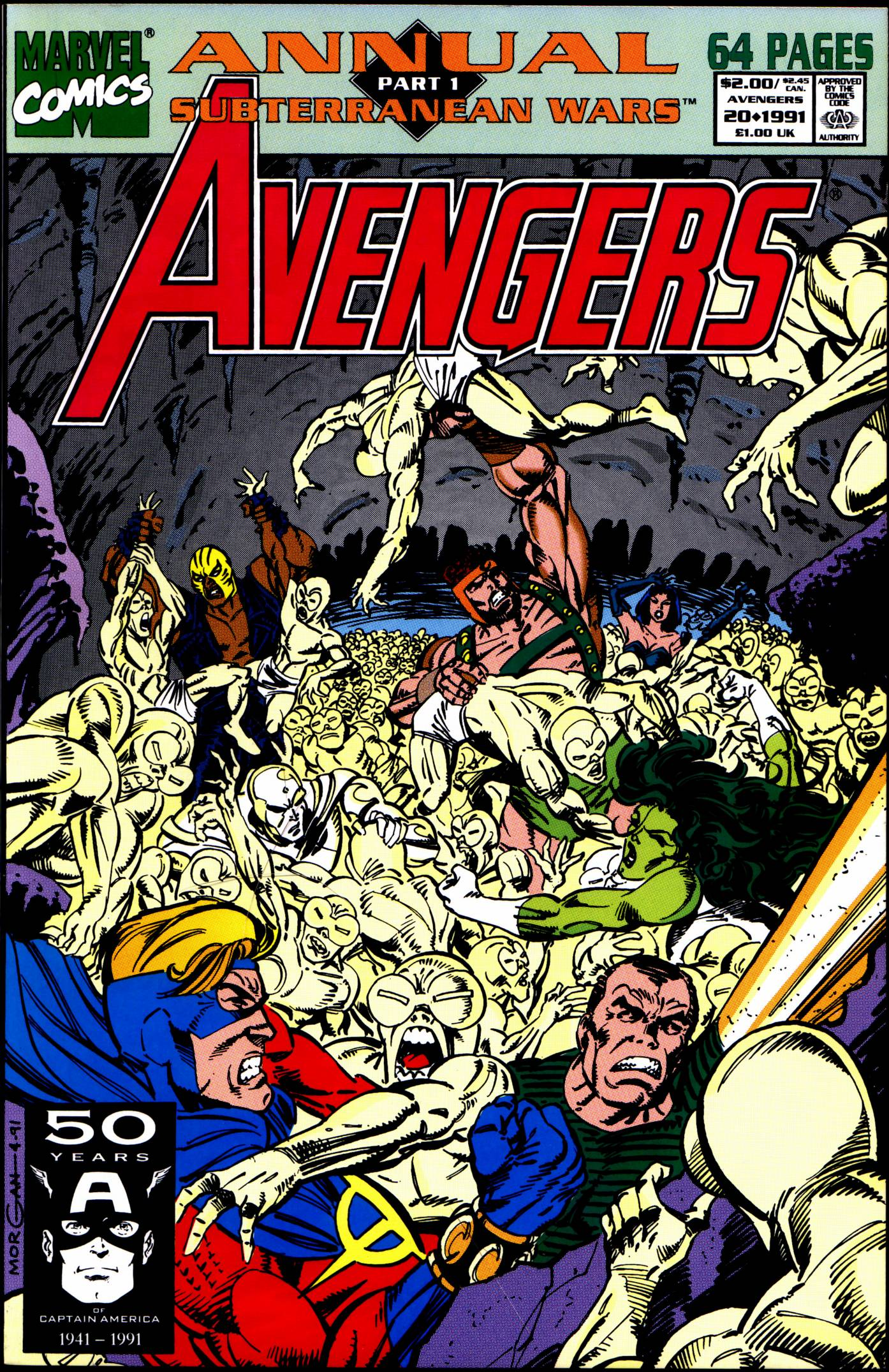 The Avengers (1963) _Annual_20 Page 1