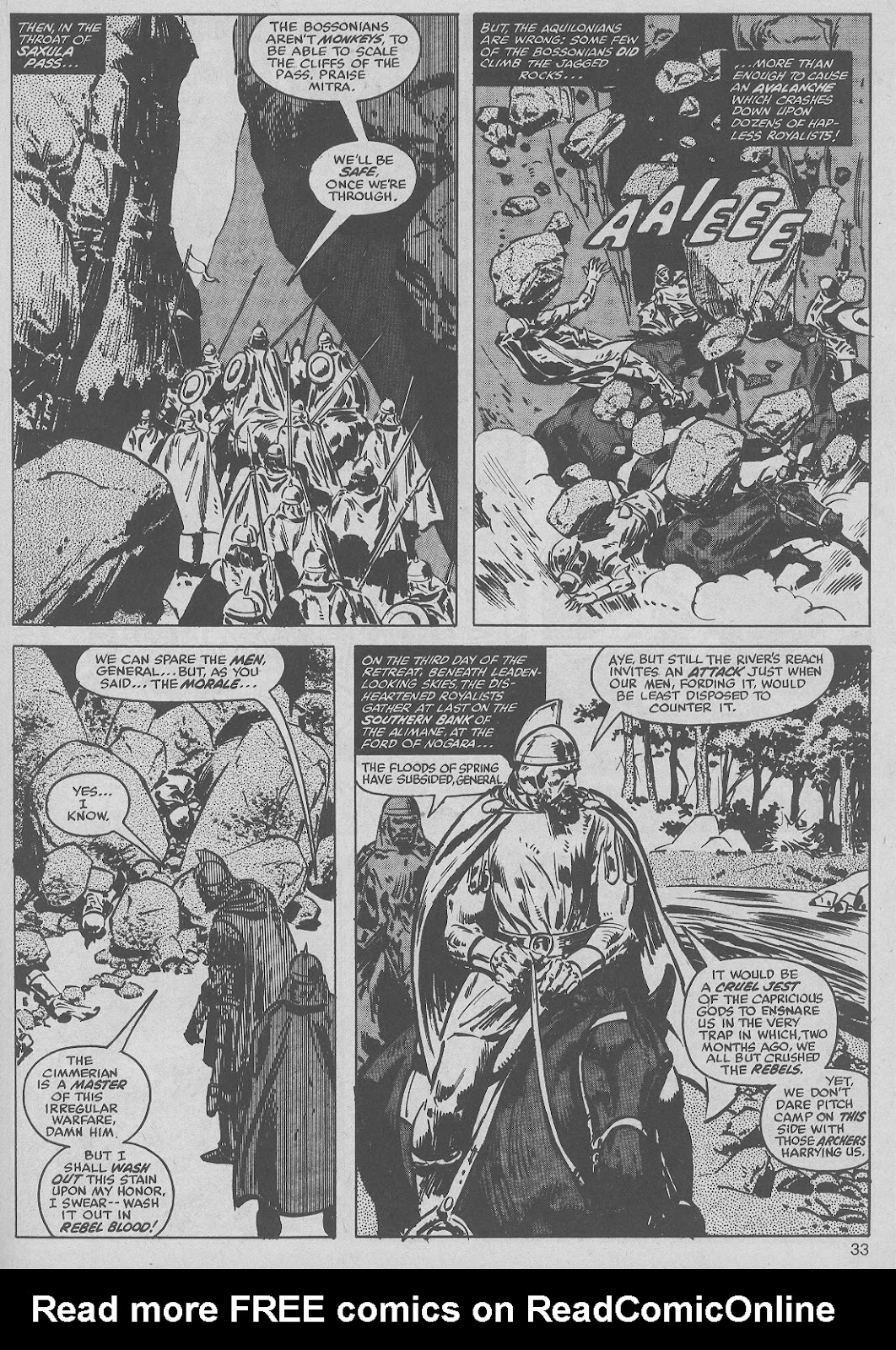 The Savage Sword Of Conan Issue #50 #51 - English 33