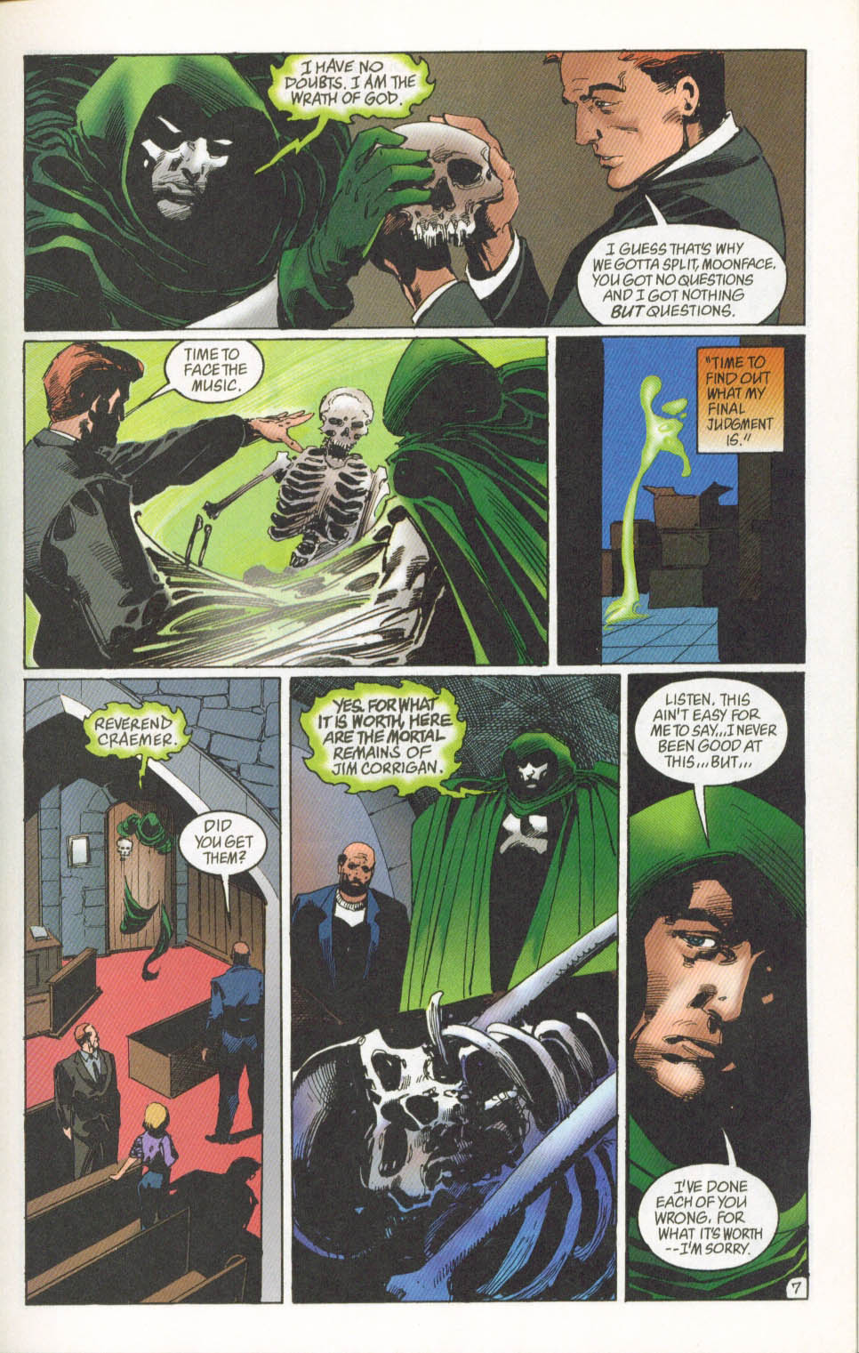 The Spectre (1992) #62 #64 - English 8