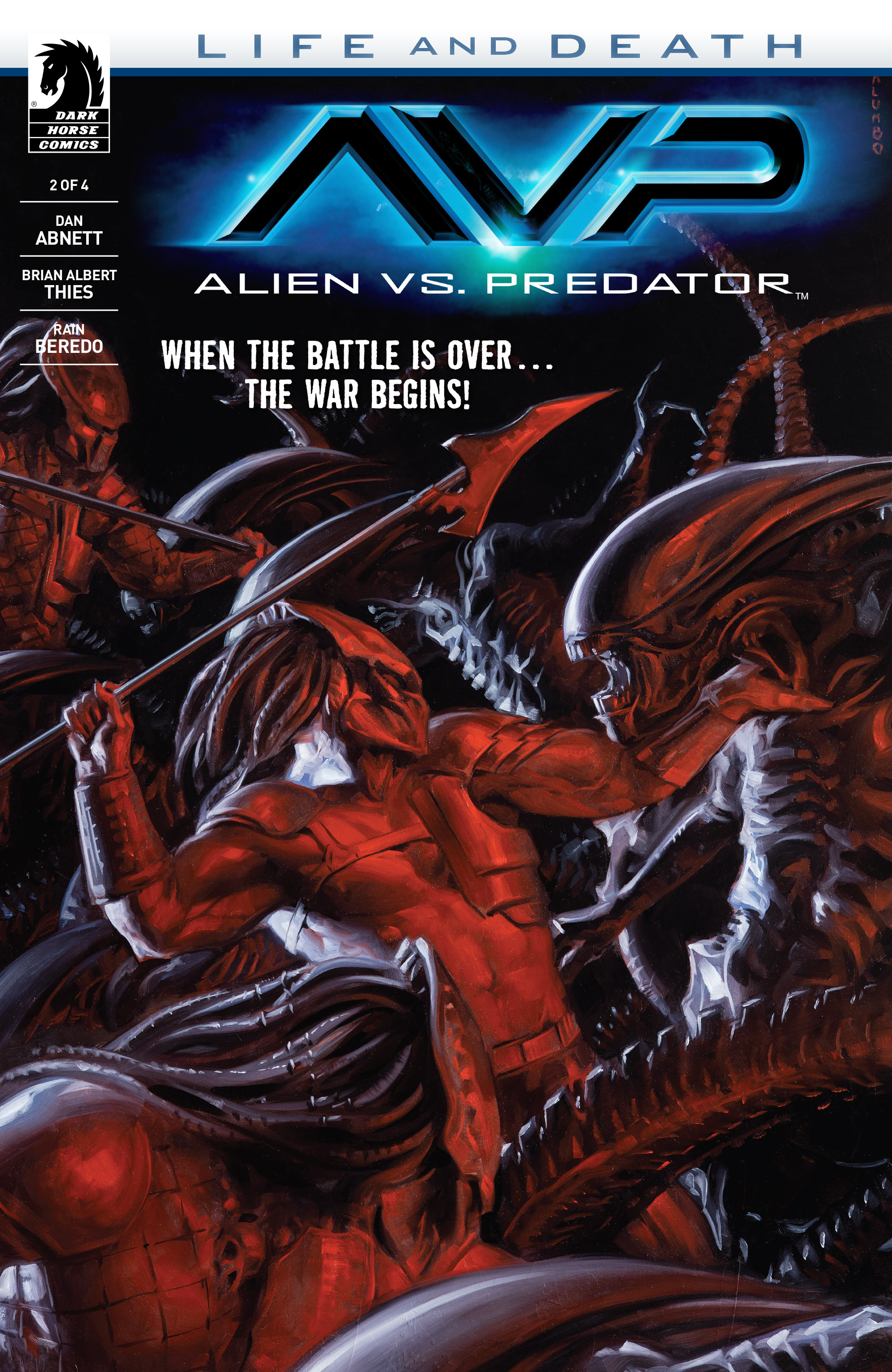 Alien Vs. Predator: Life and Death 2 Page 1