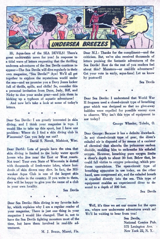 Read online Sea Devils comic -  Issue #1 - 21