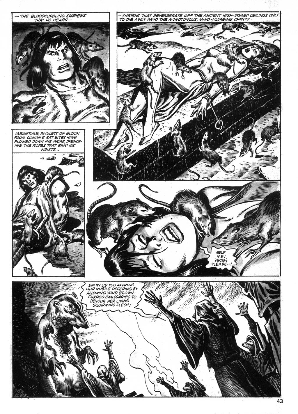 The Savage Sword Of Conan Issue #95 #96 - English 43