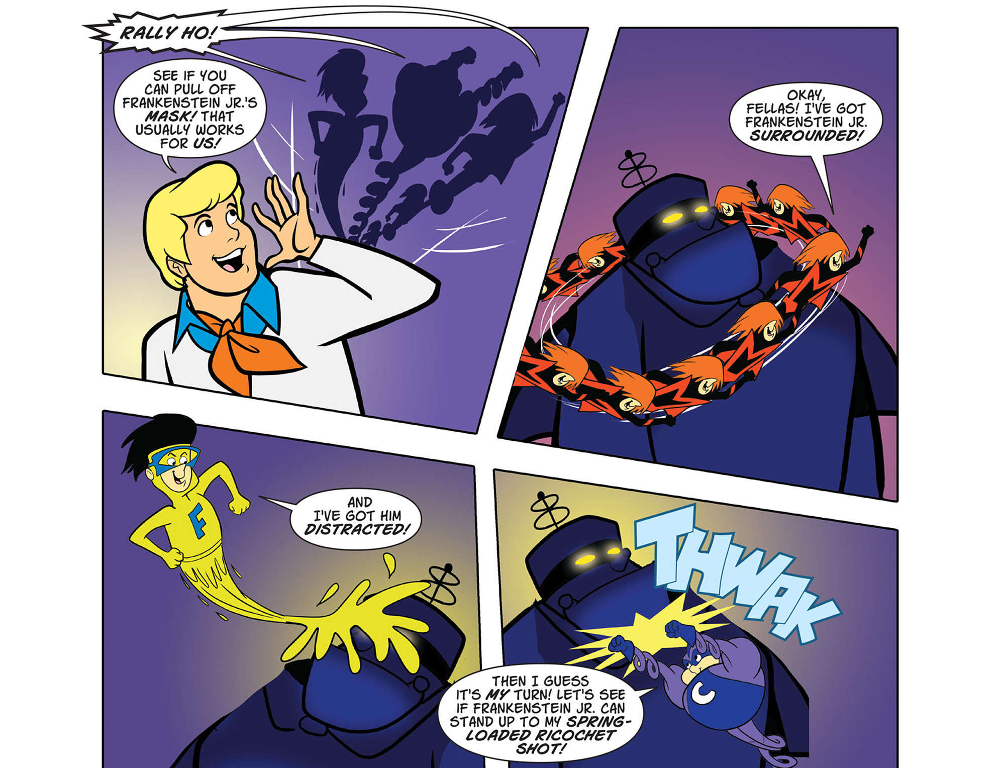 Read online Scooby-Doo! Team-Up comic -  Issue #43 - 18