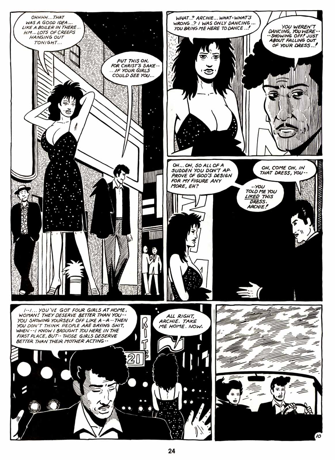 Love and Rockets (1982) Issue #6 #5 - English 26