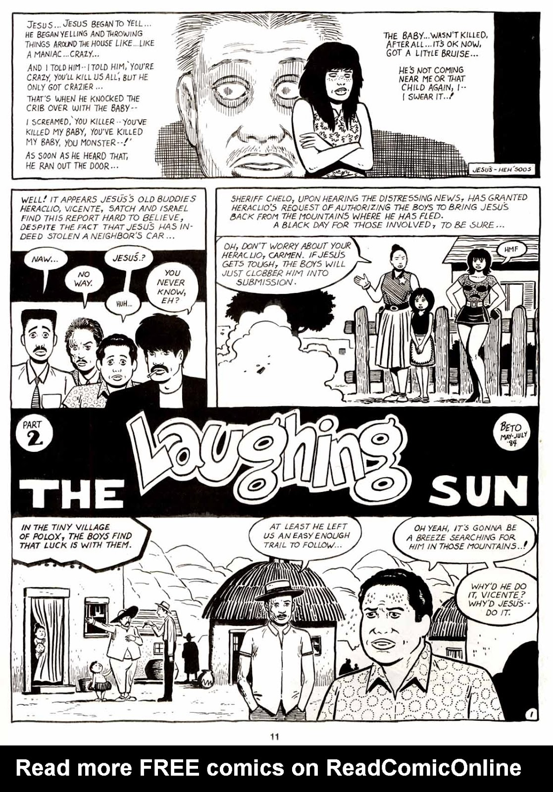 Love and Rockets (1982) Issue #9 #8 - English 13