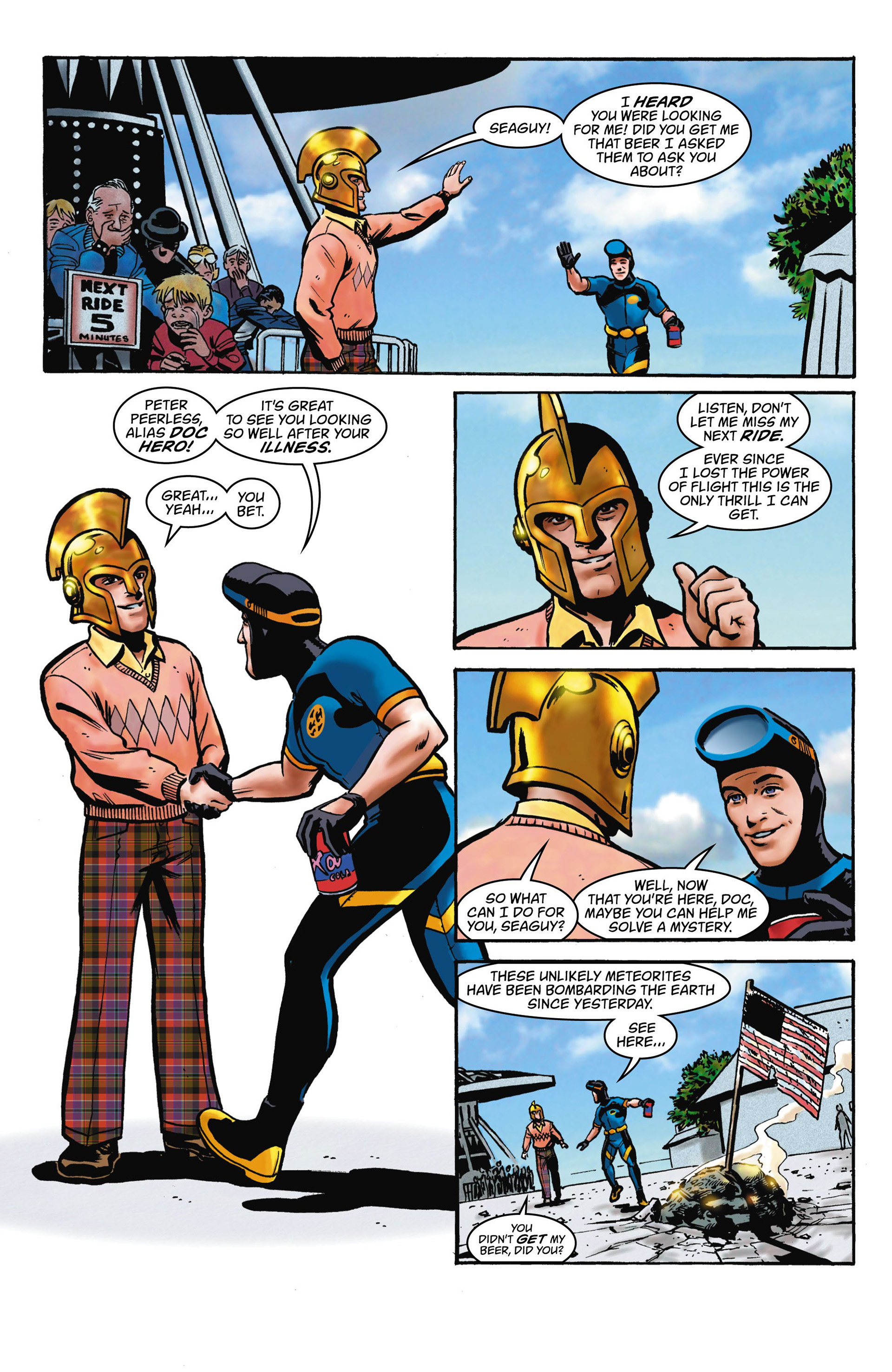 Read online Seaguy comic -  Issue #1 - 21