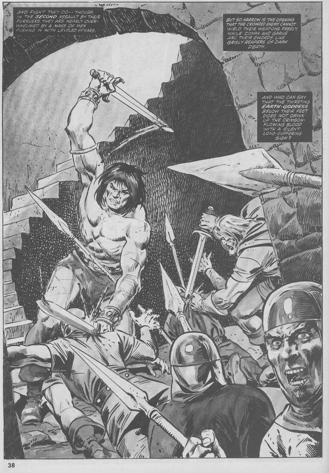 The Savage Sword Of Conan Issue #44 #45 - English 38