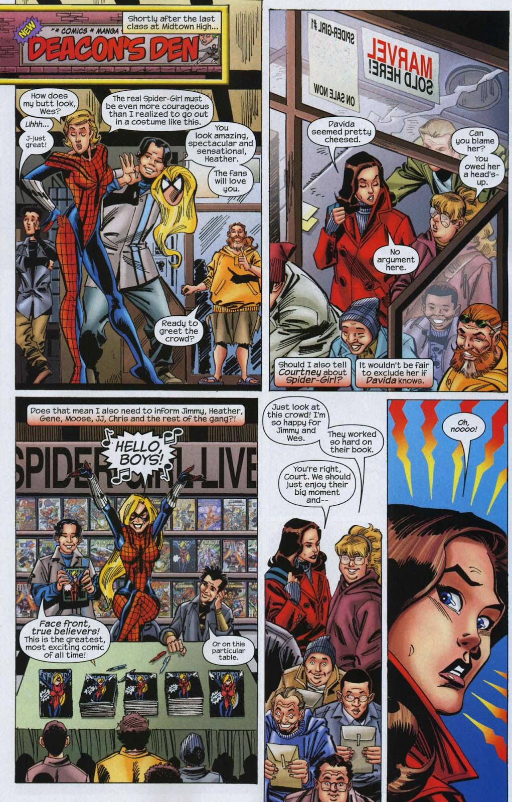 Amazing Spider-Girl Issue #6 #7 - English 11