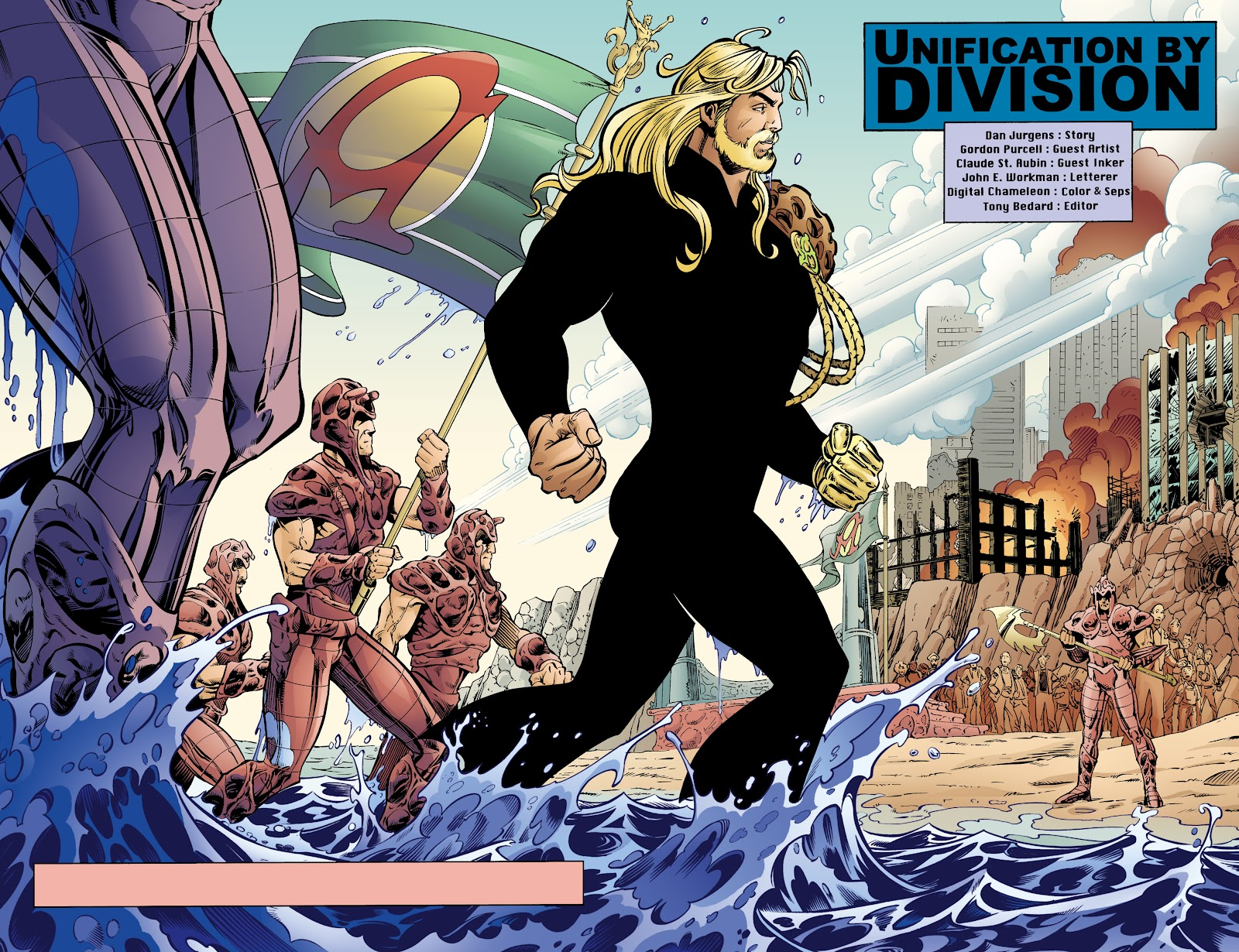 Aquaman (1994) Issue #70 #76 - English 3