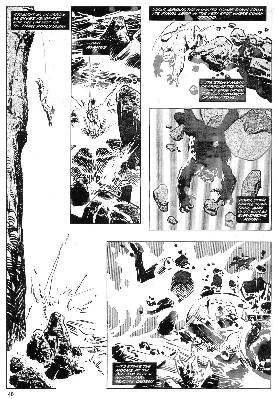 The Savage Sword Of Conan Issue #40 #41 - English 48