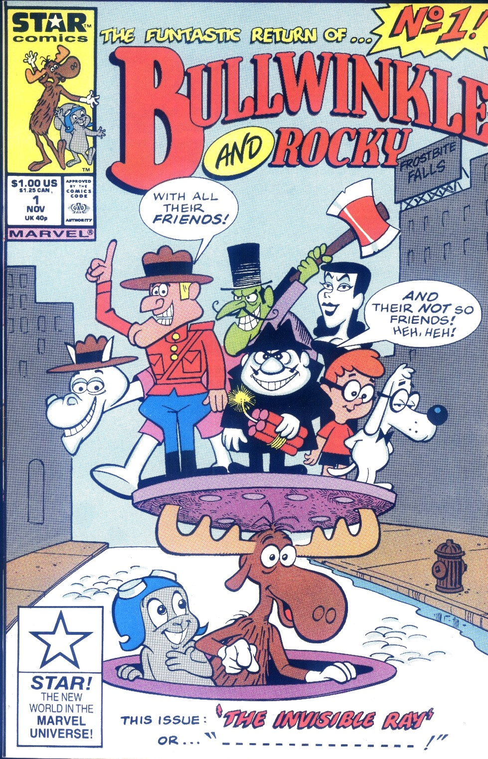Bullwinkle and Rocky 1 Page 1