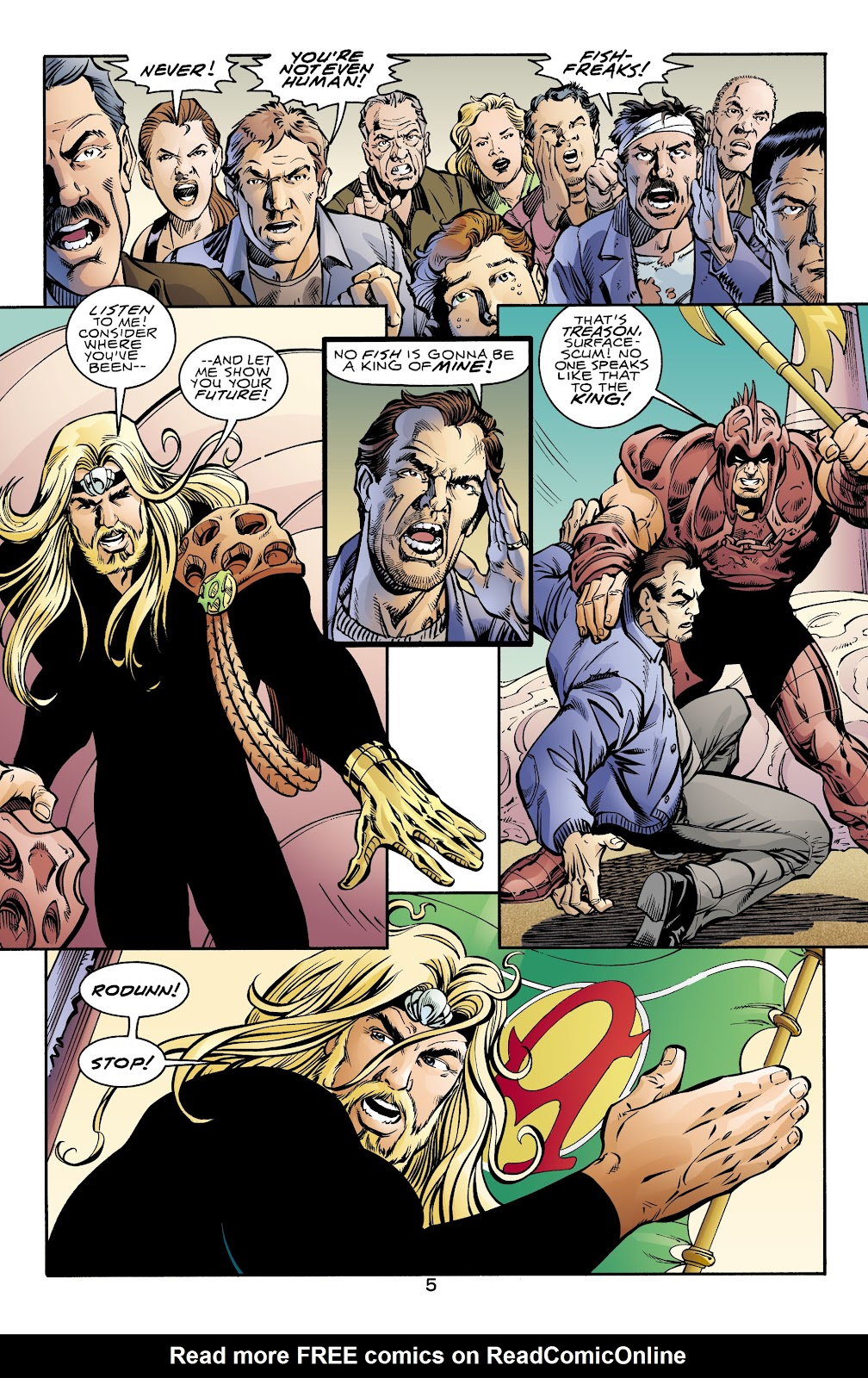 Aquaman (1994) Issue #70 #76 - English 5