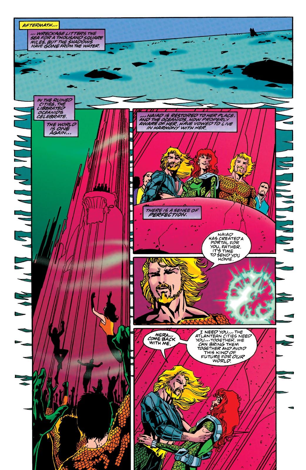 Aquaman (1994) Issue #48 #54 - English 21