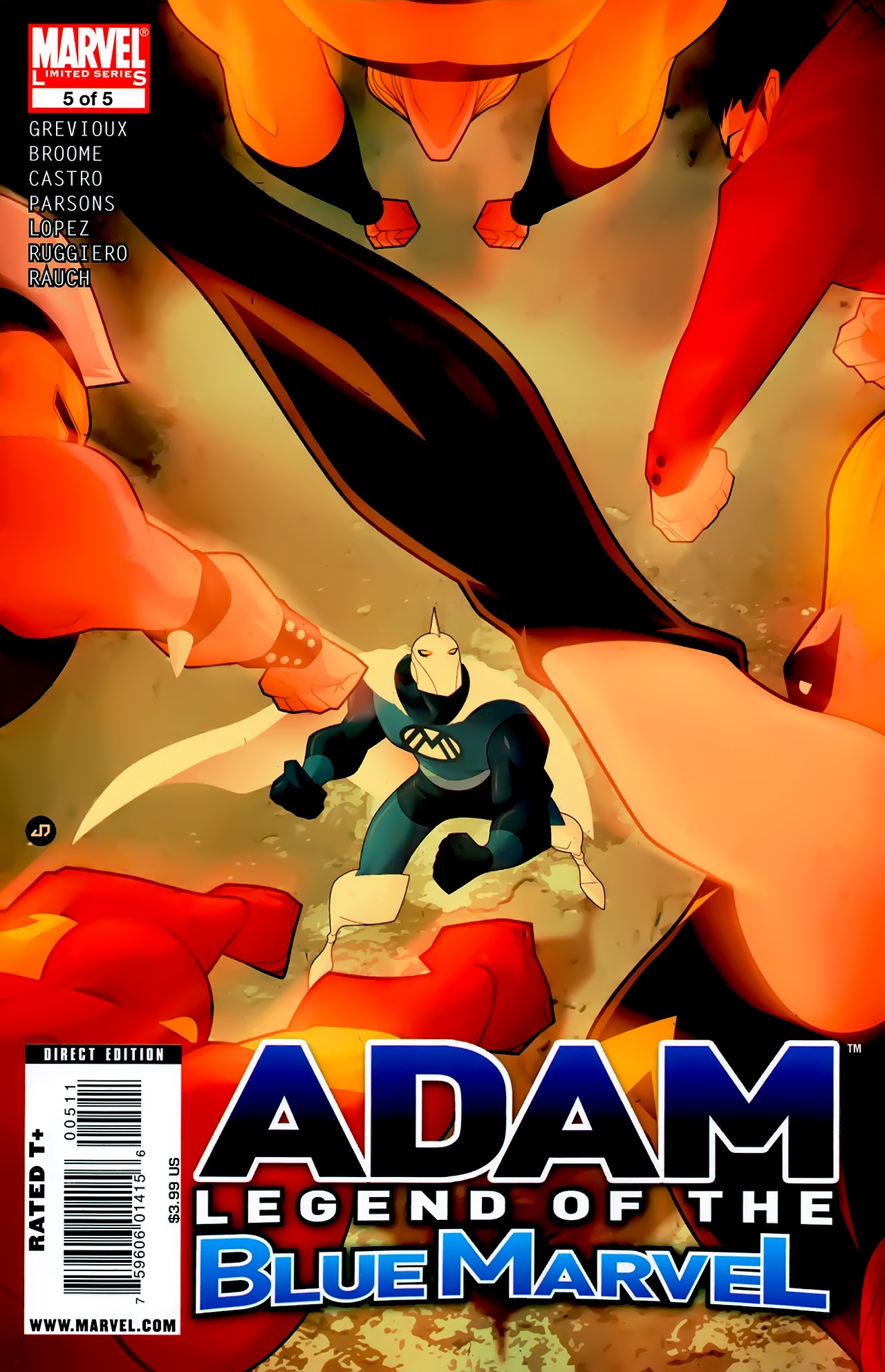 Adam: Legend of the Blue Marvel 5 Page 1