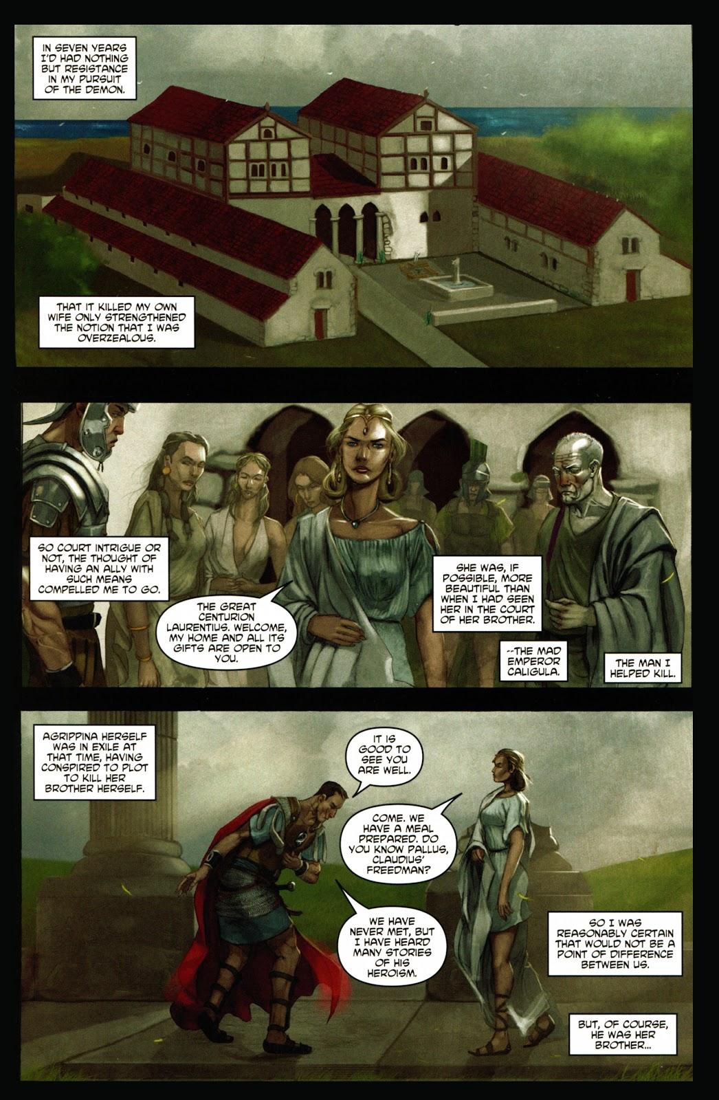 Caligula: Heart of Rome Issue #1 #1 - English 9
