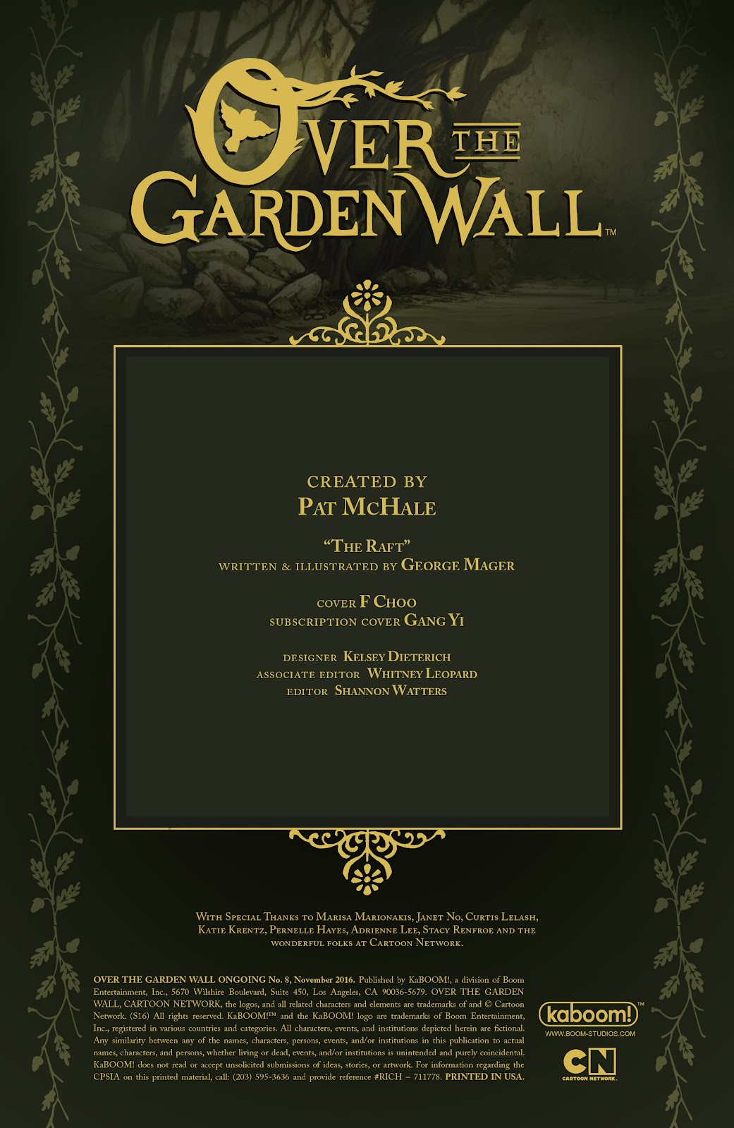 Over the Garden Wall (2016) Issue #8 #8 - English 2