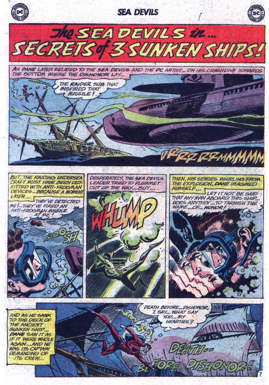 Read online Sea Devils comic -  Issue #13 - 10