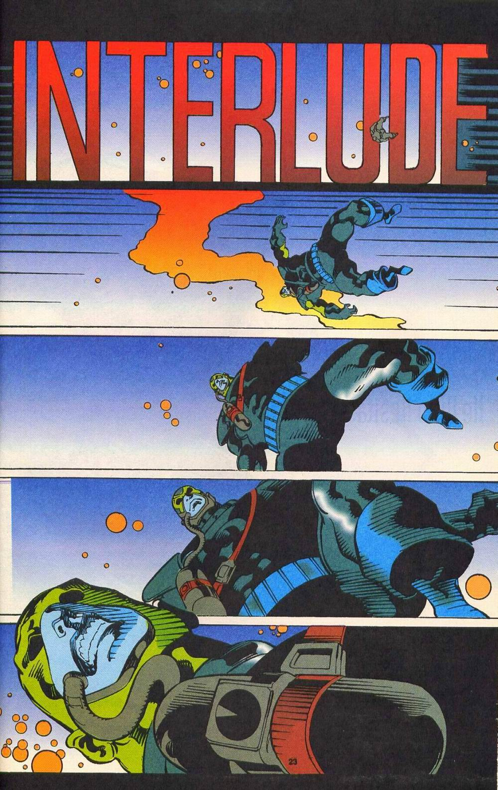 Read online Secret Defenders comic -  Issue #11 - 19