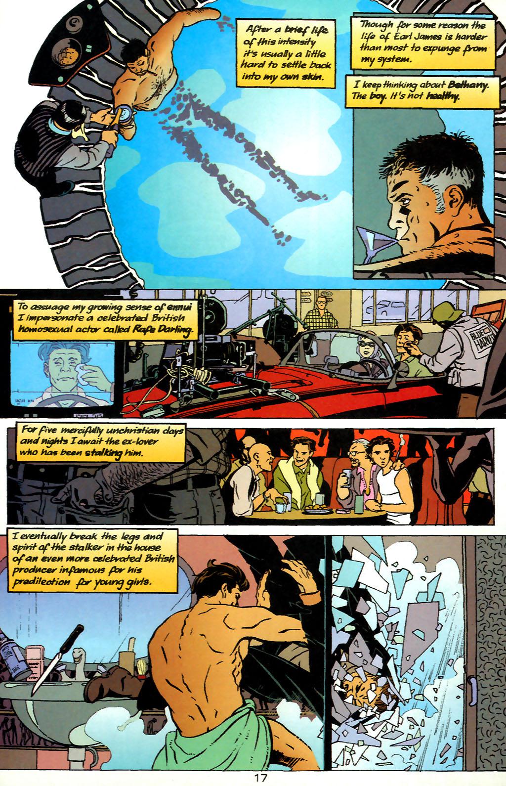 Human Target (1999) 1 Page 17